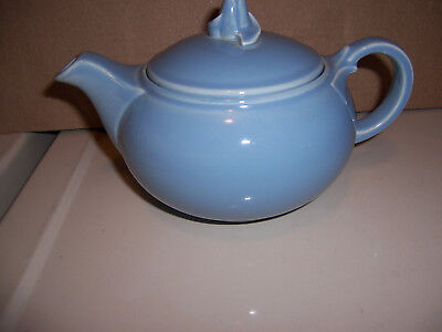 T.s. & T. Luray Pastels Usa 3-47 Blue Teapot With Lid Intact 4 Cups