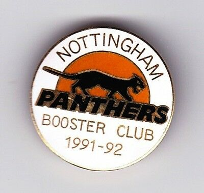 1991/92 Nottingham Panthers Booster Club Member's Badge