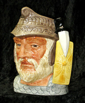 "Rare ""GLADIATOR"" Vintage Royal Doulton England Large Character Toby Jug D6550"