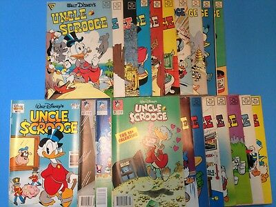 Walt Disney's Uncle Scrooge Comic Book Lot of 21 by Gladstone