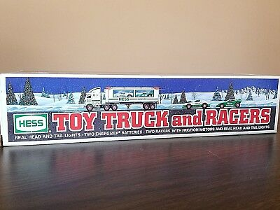 HESS Collectable Truck TOY TRUCK AND RACE CARS 1997