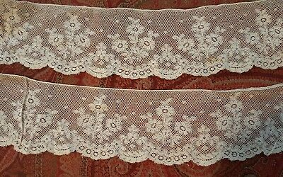 ANTIQUE VINTAGE LACE 1 yard by 2 1/2 inches wide