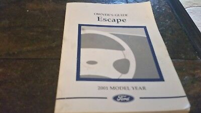 01 2001 ford expedition owners manual 8 50 picclick rh picclick com 2001 ford escape xlt owners manual 2001 ford escape xlt v6 owners manual