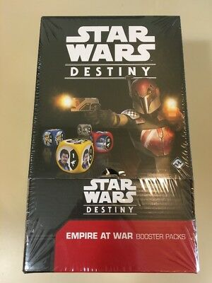 Star Wars Destiny Empire at War Booster Box Factory Sealed CHEAPEST