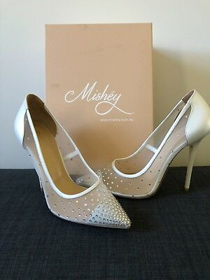 Mishey Bridal Shoes Brand New Size 39