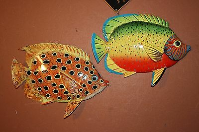 (2), Seafood Restaurant Fish Decor, Tropical Fish Wall Hangings, 100,124