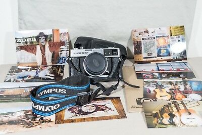 Olympus-35 SP Rangefinder 35mm Film Camera. Film Tested. Fully Functional.