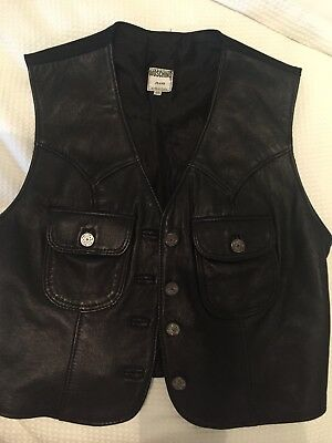 Moschino Vintage Leather Vest