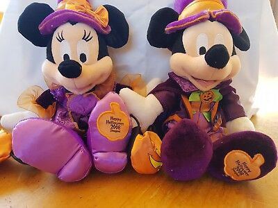 Minnie and Mickey Mouse Halloween