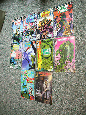 DC Comics Saga of the Swamp Thing 10 issues- $10 1983-1989!!!!!!!!!!!!!!!!!