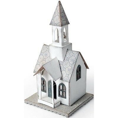 "Sizzix Bigz Die By Tim Holtz 5.5""X6"" - Village Bell Tower"