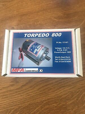 MFA Torpedo 800 Electric 12v Motor For RC Model Boat Ect.