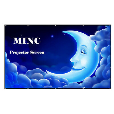 """Large Projector Screen 200"""" 250""""120""""150""""180"""" Movie Cinema Screen for HomeTheater"""