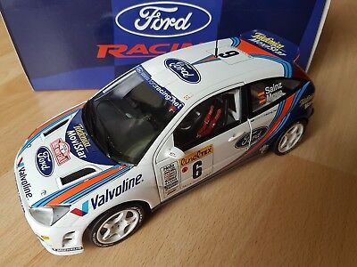 1/18 Action Ford Focus Wrc Sainz Rally Monte Carlo 2000