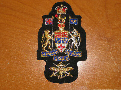 Royal Canadian Navy Rank Badge Formation Chief Warrant Officer nice Mess Dress