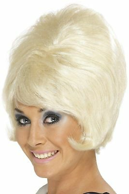 60s Beehive Wig US One Size Blonde