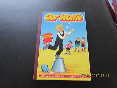 Oor   Wullie  Annual  1990    Good  Condition  For Age