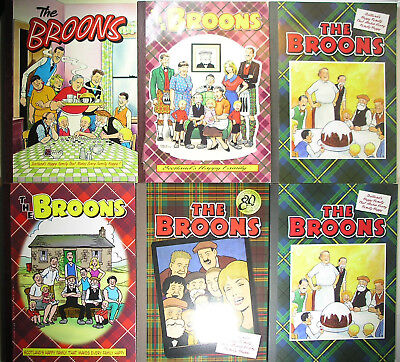 Job Lot 6 Broons Annuals 2016 (X2) 2007 2015 1995 1991