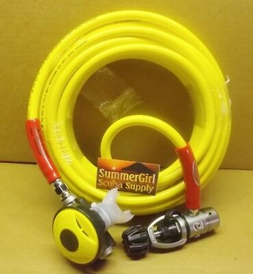 Brownie's  50ft Octo Hose With 1st & 2nd Stage Explorer Scuba Regulator,