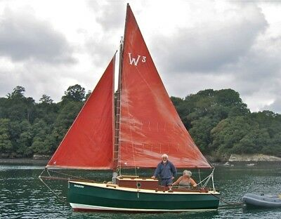 West Coast 16' camper-sailer boat by Birquist and Winter