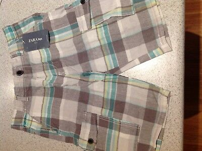 Boys Zara Dress Shorts