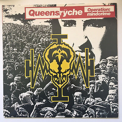 QUEENSRYCHE - Operation Mindcrime - Vinyl LP Schallplatte