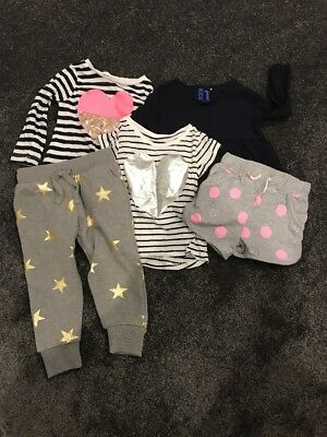 Girls Cotton On Tops Trackies Size1-2