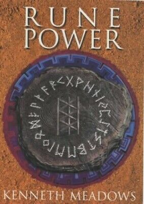 Rune Power by Meadows, Kenneth Paperback Book The Cheap Fast Free Post