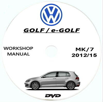 Workshop Manual Volkswagen GOLF/GTI,manuale officina+schemi elettrici Golf 7(5G)