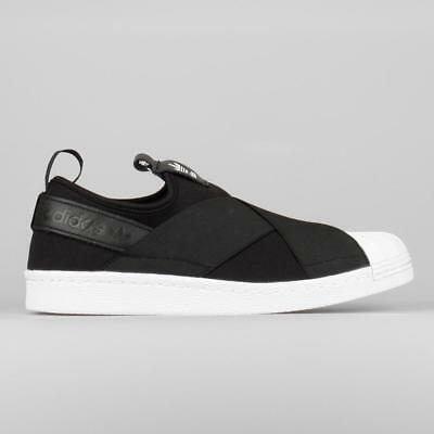 ADIDAS Weiß ORIGINALS SUPERSTAR Slip On Damens Schuhes schwarz Core Weiß ADIDAS a0f3dd