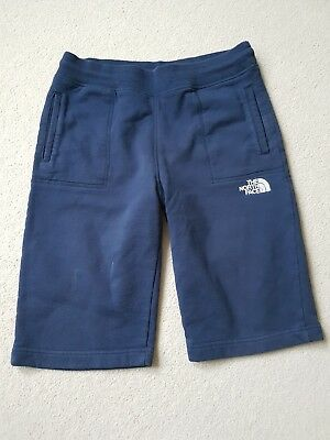 North Face Boys Long Casual Shorts Navy and white Size XL Boys