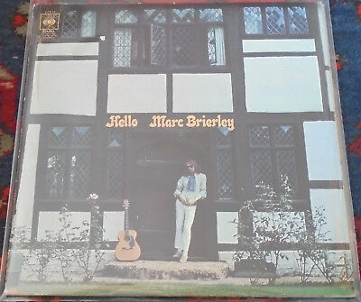 Marc Brierley : Hello,Folk,CBS,U.S.A.,LP