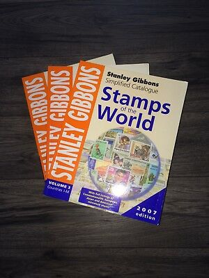 Stanley Gibbons Stamps Of The World 2007 Simplified Stamp Catalogue - First 3