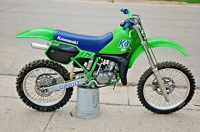 1989 Kawasaki KX  1989 KAWASAKI KZ125 NICE BIKE FRESH TOP END REPLATED LOW HOURS CLEAN NIKASIL
