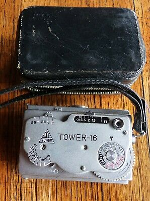 Vintage Tower 16 Spy Subminiature Film Camera with Case