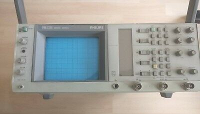 Philips Oszilloskop 60 MHz 20MS/s Analog/Digital PM3335 Top