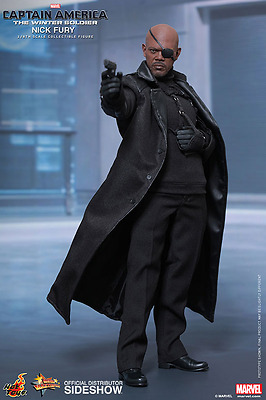 Hot Toys Marvel's Nick Fury / Captain America - The Winter Soldier / Sixth Scale