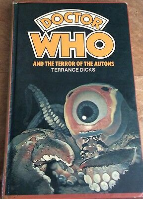 Doctor Who and the Terror of the Autons - W H Allen - hardcover hardback