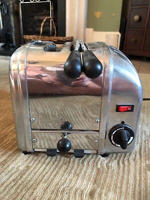 Dualit 2 slice stainless steel toaster