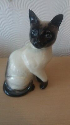 Large Beswick Siamese Cat