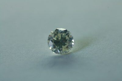 Lose natürliche(clarity enhanced) Diamant Rund  0.28 ct (2x0.14) P1/F