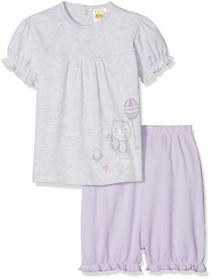 DIMO-TEX Baby Girls' Shorty Flying High Pyjama Sets 9 - 12 Months