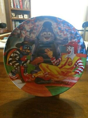 2002 McDonald's Safe At Home Plate Plastic Plate
