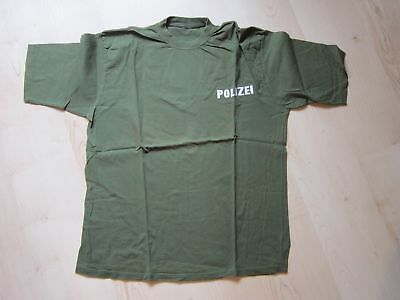 Original Polizei T-Shirt Gr. XXL