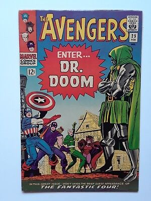 The Avengers #25 (Feb 1966, Marvel), approx. 7.0, nice copy!