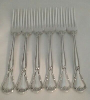 Lot Of 8 Vintage Gorham Chantilly Sterling Silver Dinner Forks