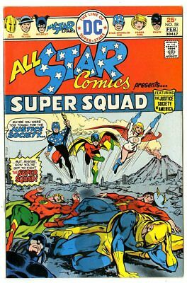 All Star Comics #58 (#1) NM- 9.2 white pages  Justice Society  DC  1976  No Resv