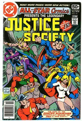 All Star Comics #74 NM- 9.2 white pages  Justice Society  Final issue!  DC  1978