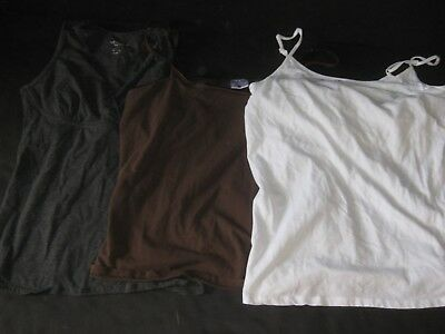 Motherhood Maternity Medium Nursing Cami Tops Lot Of 3