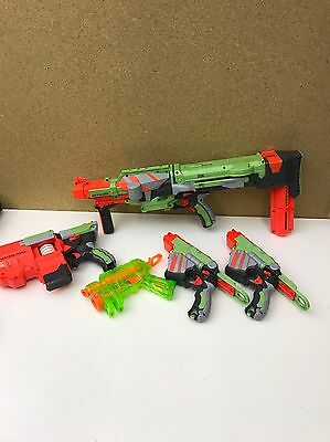 LARGE NERF VORTEX NITRON/VIGILON /PROTON NITE FINDER guns bundle Great Set